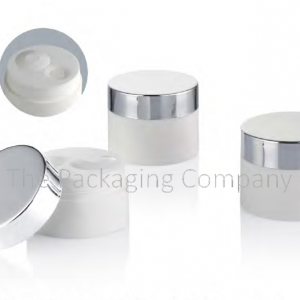 PP Airless Cream Jar; with Custom Printing and FInish; 30 and 50 ml capacity