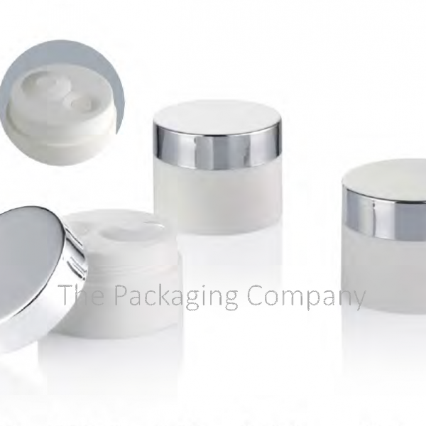 PP Airless Cream Jar; with Custom Printing and FInish; 30 and 50 ml capacity