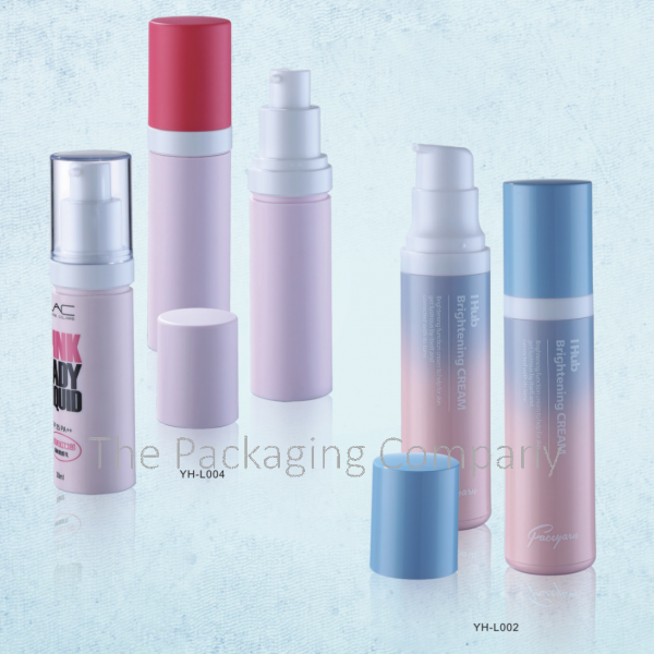 PP Custom Design Airless Bottle (30 & 50 ml)