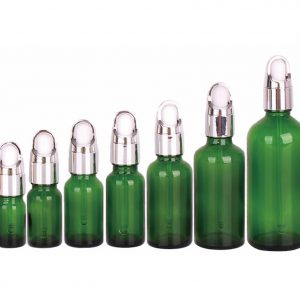Glass Dropper Bottle 5 ml, 10 ml, 15 ml, 20 ml, 30 ml, 50 ml, 100 ml; with Custom Printing and Finish