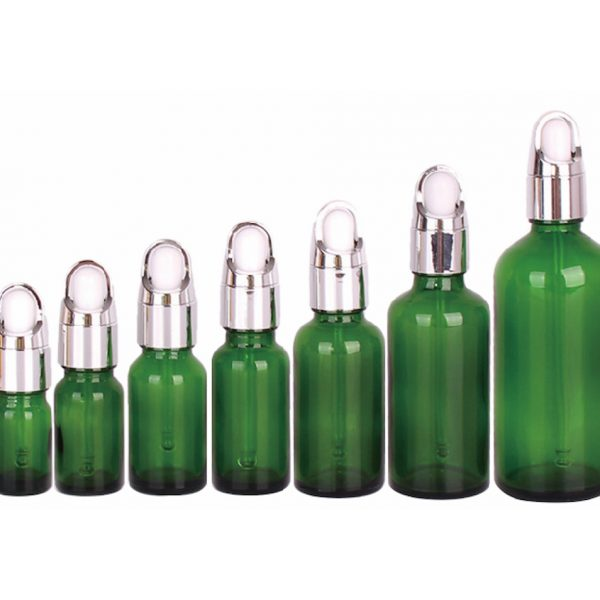Glass Dropper Bottle (5-100ml); with Custom Printing and Finish