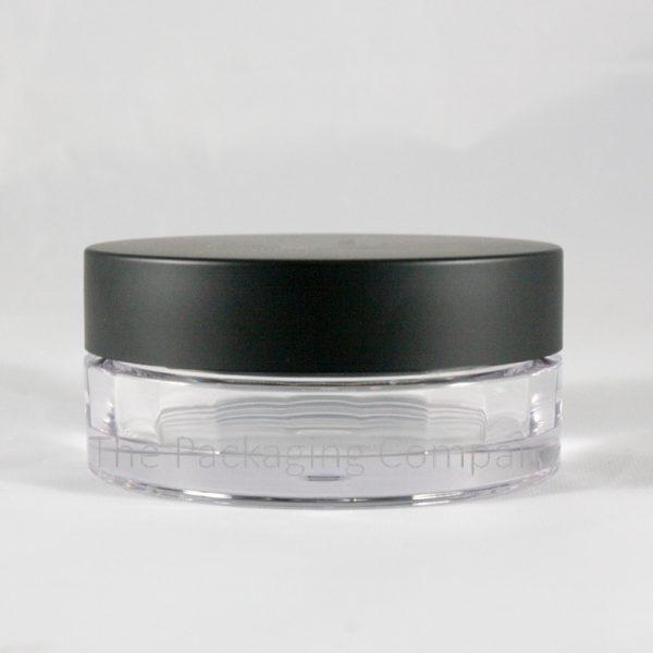 55ml loose powder compact twist off cap