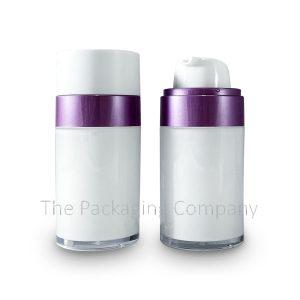 30ml 50ml Airless Pump PP Bottle 612AB