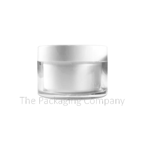 50ml 100ml round pcr jar pi15